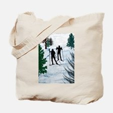 Unique Cross country ski Tote Bag