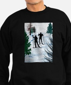 Unique Ski Sweatshirt