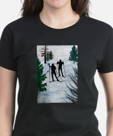 Funny Skier Tee