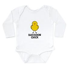 Bassoon Chick Long Sleeve Infant Bodysuit