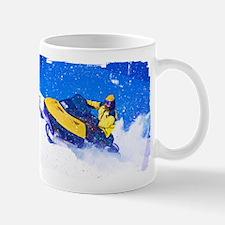 Funny Snow mobile Mug