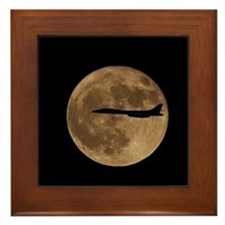 B1-B Moon Flight Framed Tile