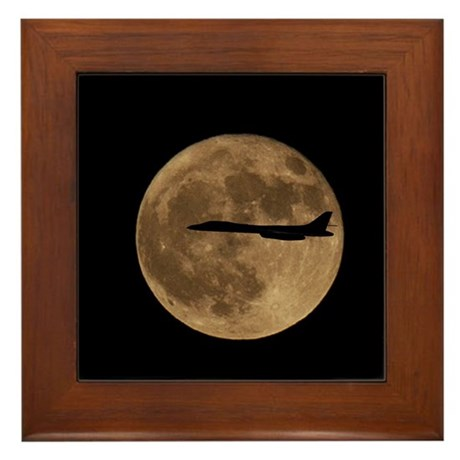 B1-B Moon Flight Framed Tile