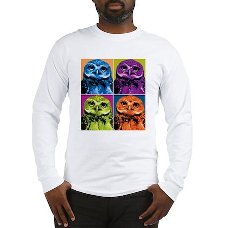 Pop Owl Long Sleeve T-Shirt