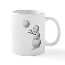 Volleyball Snowman Mug