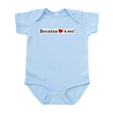 Brenton loves me Infant Creeper