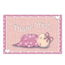 Baby Shower Thank You Postcards (Package of 8)