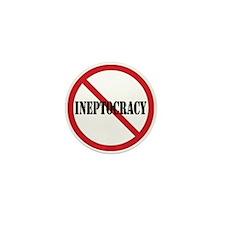 Ineptocracy Mini Button