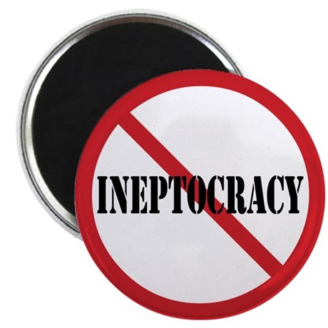 "Ineptocracy 2.25"" Magnet (100 pack)"