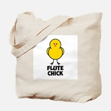 Flute Chick Tote Bag