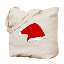 Christmas Santa Hat Tote Bag