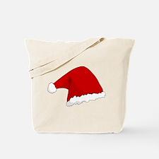 Christmas Santa Hat Tote Bag