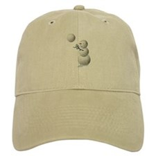 Volleyball Snowman Baseball Cap