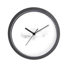 Ford Ranchero 1957 Wall Clock