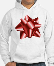 Christmas Red Bow Hoodie