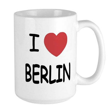 I heart berlin Large Mug