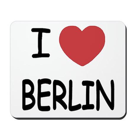 I heart berlin Mousepad