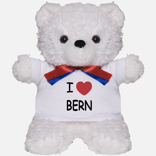 I heart bern Teddy Bear