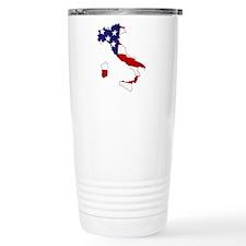 I am Italian American! Travel Coffee Mug