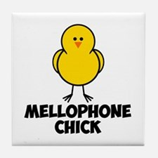 Mellophone Chick Tile Coaster