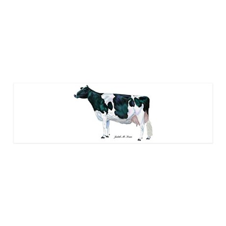 Holstein Cow 36x11 Wall Decal