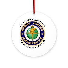 Air Traffic Controller Ornament (Round)