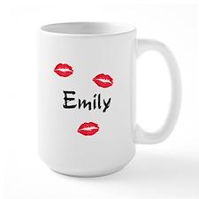 kiss emily Mug