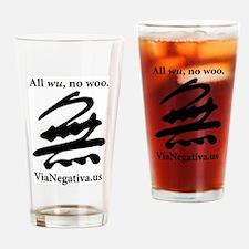All wu, no woo. Drinking Glass