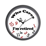 Funny retirement clocks Wall Clocks