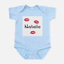 kiss natalie Infant Bodysuit