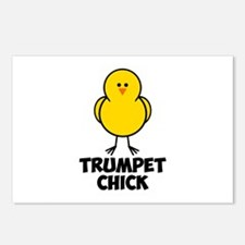 Trumpet Chick Postcards (Package of 8)