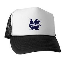 i love penguins Trucker Hat