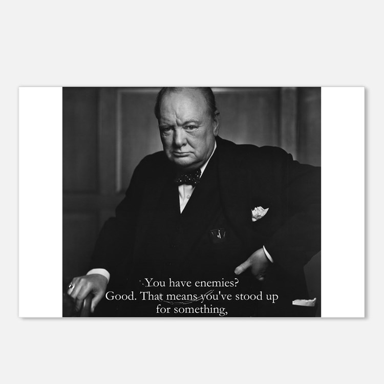 Churchill Postcards (8)
