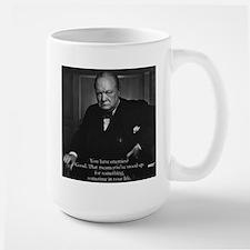 Lg. Churchill Mug