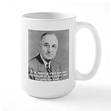 Lg. Truman Mug