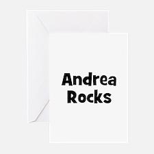 Andrea Rocks Greeting Cards (Pk of 10)