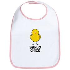 Banjo Chick Bib