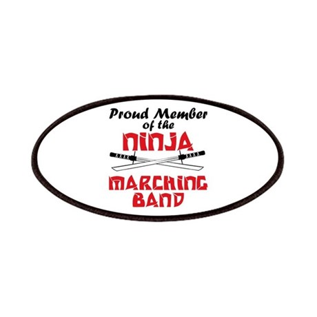 Ninja Marching Band Patches