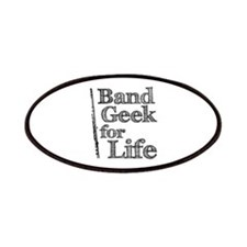 Flute Band Geek Patches