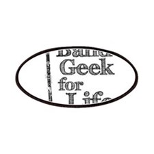 Clarinet Band Geek Patches