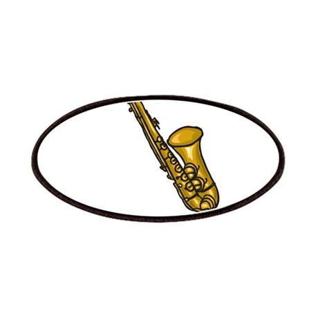 I Play Sax Patches
