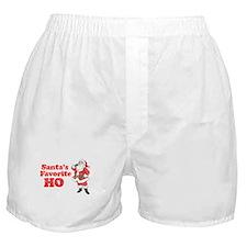Santa's Favorite Ho! Boxer Shorts