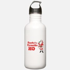 Santa's Favorite Ho! Water Bottle