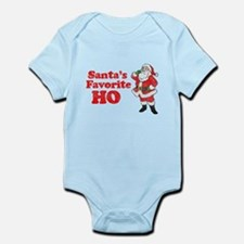 Santa's Favorite Ho! Infant Bodysuit