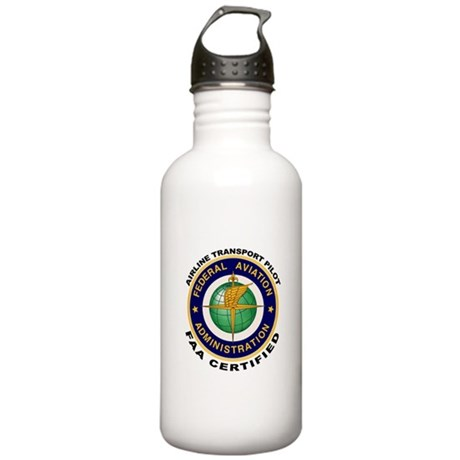Airline Transport Pilot Stainless Water Bottle 1.0