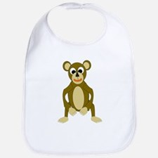 Monkey Design Bib