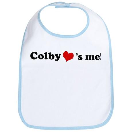 Colby loves me Bib