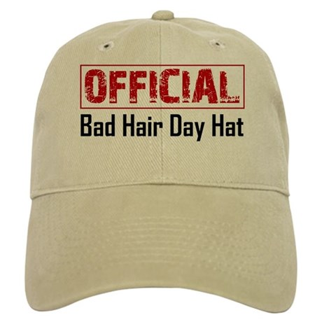 official bad hair day hat cap by elegantmischief