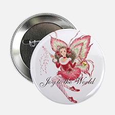 """Xmas Ballet Fairy 2.25"""" Button"""