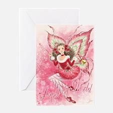 Xmas Ballet Fairy Greeting Card